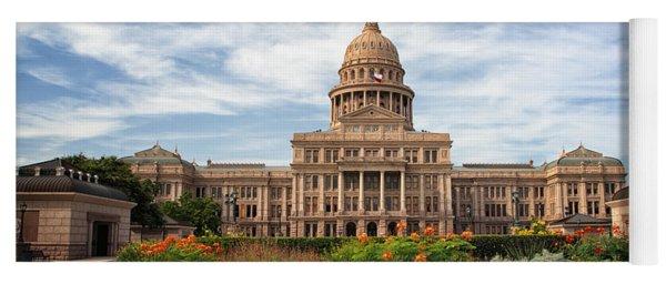 Texas State Capitol Yoga Mat