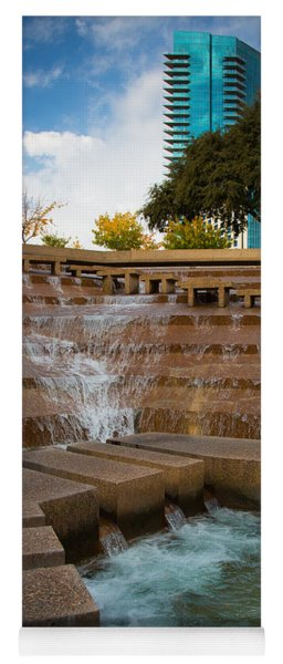 Texas Water Gardens Yoga Mat