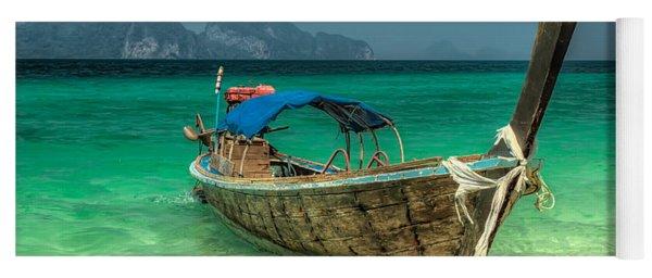 Thai Boat  Yoga Mat