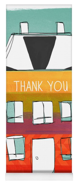Thank You Card Yoga Mat