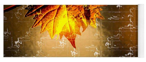 Thanksgiving Card Yoga Mat