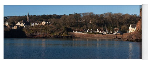 Thatched Cottages In A Town, Dunmore Yoga Mat