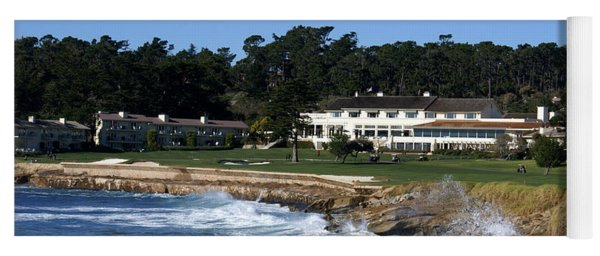 The 18th At Pebble Beach Yoga Mat
