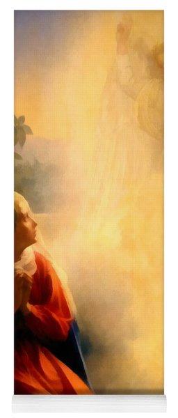 The Annunciation Yoga Mat