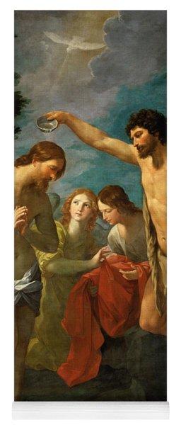 The Baptism Of Christ Yoga Mat