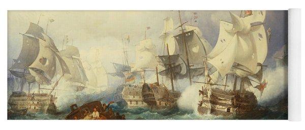 The Battle Of Trafalgar Yoga Mat