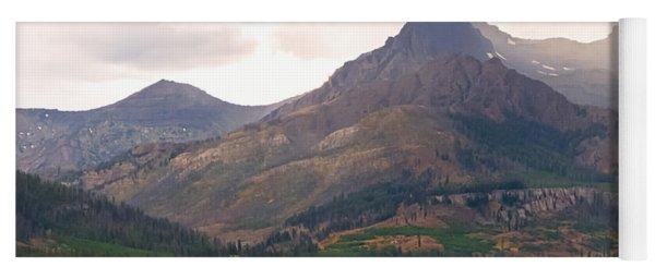 The Beartooth Mountains   Yoga Mat