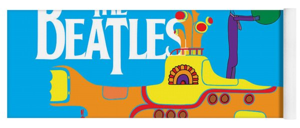 The Beatles No.11 Yoga Mat