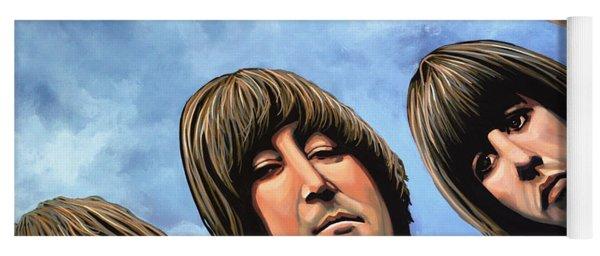 The Beatles Rubber Soul Yoga Mat