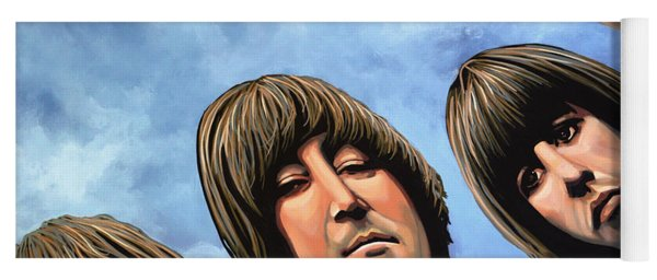 The Beatles Rubber Soul Yoga Mat