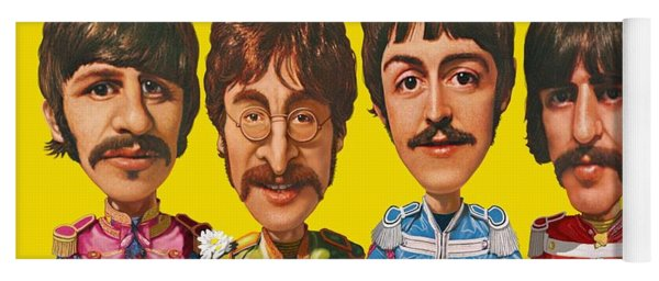 The Beatles Yoga Mat