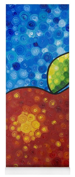 The Big Apple - Red Apple By Sharon Cummings Yoga Mat