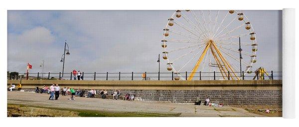 The Big Wheel And Promenade, Tramore Yoga Mat