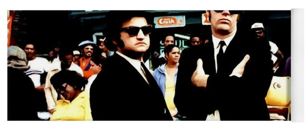 The Blues Brothers Yoga Mat