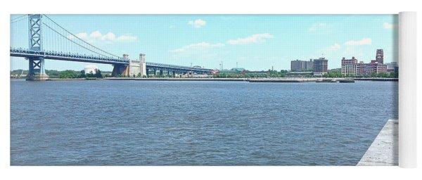 The Bridge And The River Yoga Mat