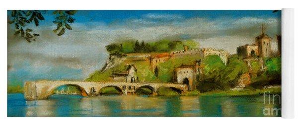 The Bridge Of Avignon Yoga Mat