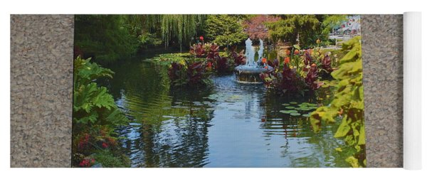 The Butchart Gardens - Photos By Lawrence Christopher Yoga Mat