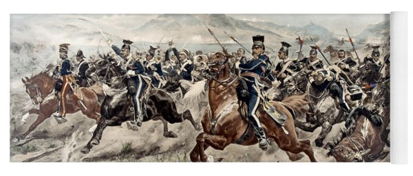 The Charge Of The Light Brigade, 1895 Yoga Mat