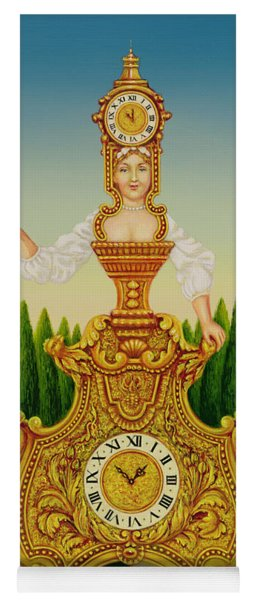 The Clockmakers Wife Yoga Mat