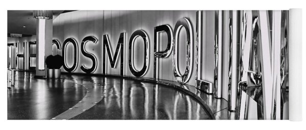 The Cosmopolitan Hotel Las Vegas By Diana Sainz Yoga Mat