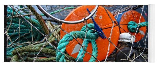 Crab Ring Yoga Mat