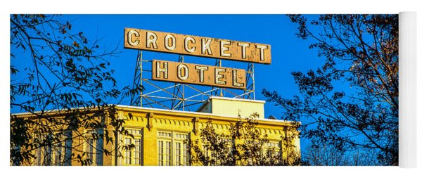 The Crockett Hotel Yoga Mat