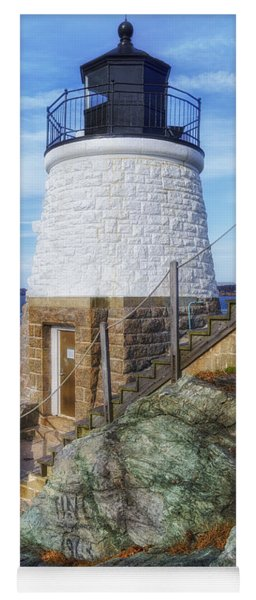 Castle Hill The Cutest Lighthouse In The World Yoga Mat