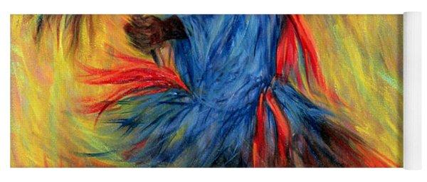 The Dancer, 1998 Oil On Canvas Yoga Mat