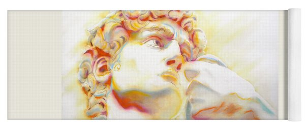 The David By Michelangelo. Tribute Yoga Mat