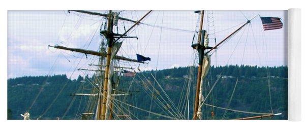 The Days Of Sails Yoga Mat