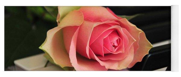The Delicate Rose Yoga Mat