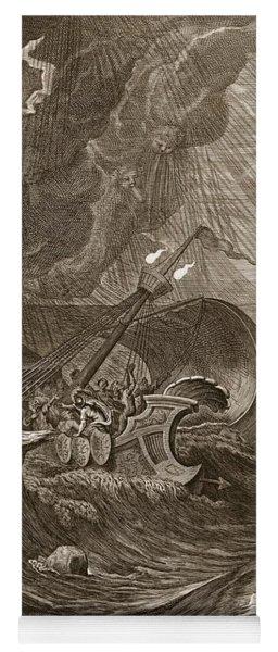 The Dioscuri Protect A Ship, 1731 Yoga Mat
