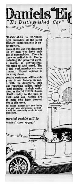 The Distinguished Car Of  1916 Yoga Mat