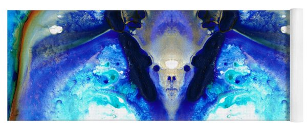 The Dragon - Visionary Art By Sharon Cummings Yoga Mat