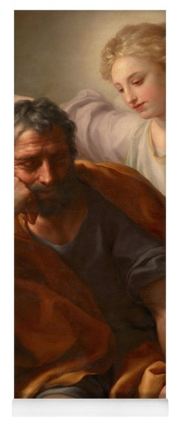The Dream Of St Joseph Yoga Mat