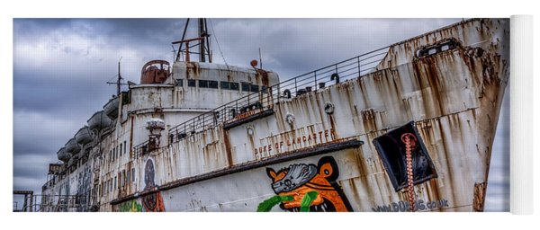 Yoga Mat featuring the photograph The Duke Of Lancaster by Adrian Evans