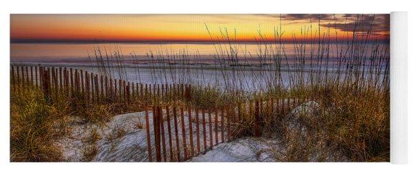The Dunes At Sunset Yoga Mat