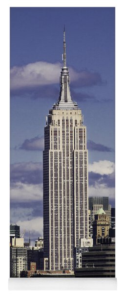 The Empire State Building Yoga Mat