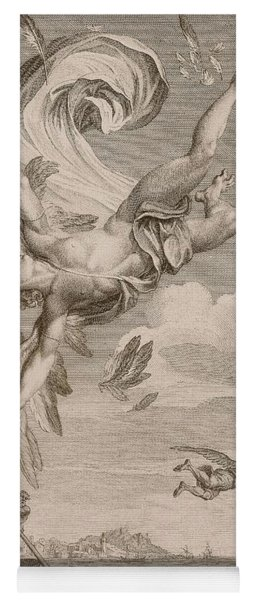 The Fall Of Icarus, 1731 Yoga Mat
