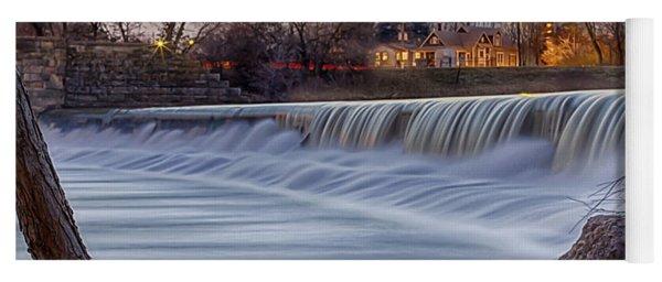 The Falls Of White River Yoga Mat
