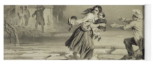 The Flight Of Eliza, Plate 3 From Uncle Yoga Mat