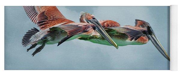 The Flying Pair Yoga Mat