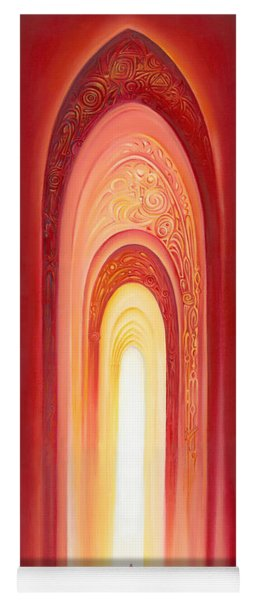 The Gate Of Light Yoga Mat
