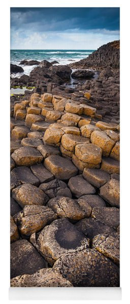 The Giant's Causeway - Rocky Road Yoga Mat