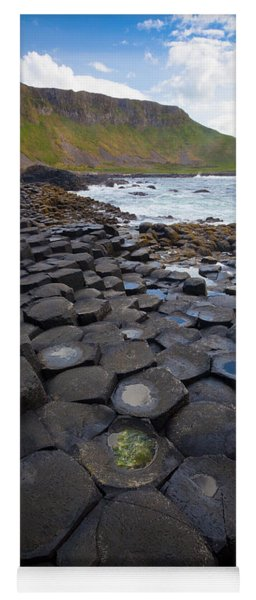 The Giant's Causeway - Staircase Yoga Mat