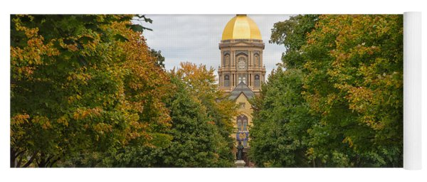 The Golden Dome Of Notre Dame Yoga Mat