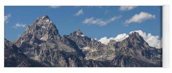 The Grand Tetons - Grand Teton National Park Wyoming Yoga Mat