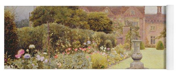 The Grass Walk, Helmingham Hall, 1892 Yoga Mat
