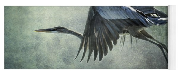 The Great Blue Heron  Yoga Mat