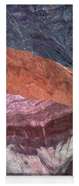 The Hill Of Seven Colors Argentina Yoga Mat